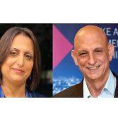 בכירים חדשים בדירקטוריון מטח: אהרון אהרון ושירין חאפי נאטור