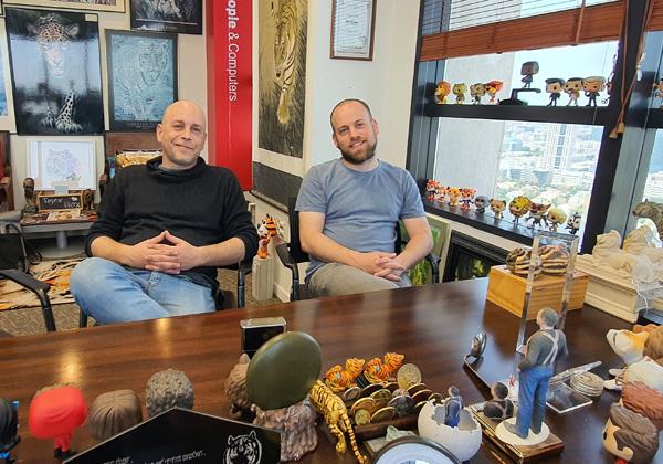 מימין: אור ואיתי ויינברגר, ברוט בראדרס. צילום: פלי הנמר