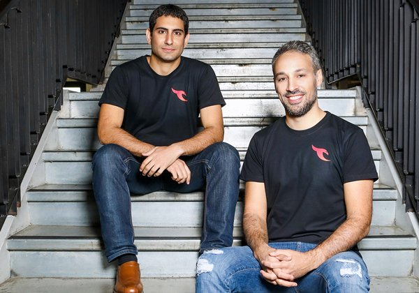 מייסדי טאלון: מימין - אוהד בוברוב ועופר בן נון. צילום: שלומי יוסף