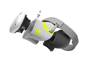 חלקים שניתנים לכביסה. VIVE Air VR של HTC. צילום: מדריך העיצוב העולמי