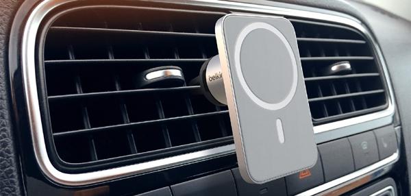 Belkin WIC002 - מעמד מגנטי MagSafe לרכב ל-iPhone 12