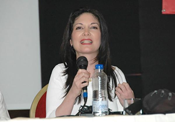 """אודליה לבנון, המנכ""""לית הפורשת של מרכז החישובים הבינאוניברסיטאי - מחב""""א. צילום: פלי הנמר"""