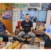 באו לבקר במאורת הנמר: אילן וגנר, אונוורד ישראל, ויוני היילמן, תמיד גרופ