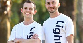 """מייסדי לייטראן. מימין: אילן פלג ולאוניד בלובשטיין. צילום: יח""""צ"""