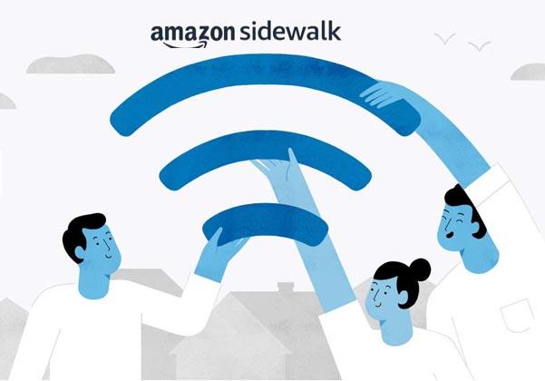 שירות Sidewalk של אמזון. צילום: אמזון