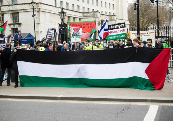 הפגנת תמיכה בפלסטינים. צילום ארכיון: BigStock