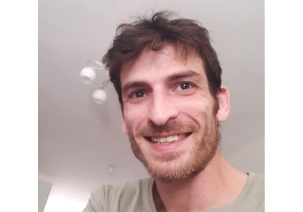ישראל ויינברג, מהנדס נתונים בחברת קליידו. צילום: פרטי