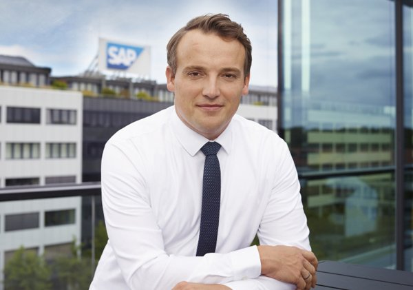 """כריסטיאן קליין, מנכ""""ל סאפ. צילום: יח""""צ"""