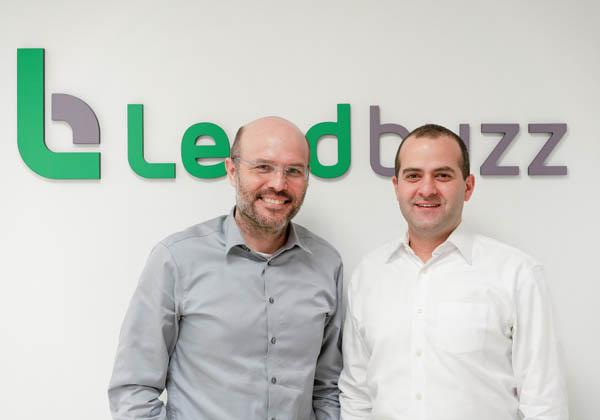 "מייסדי לנדבאז. מימין: אמיתי קלמר, מנכ""ל, וד""ר דן רביב, סמנכ""ל טכנולוגיות. צילום: ווייפן צ'ן"