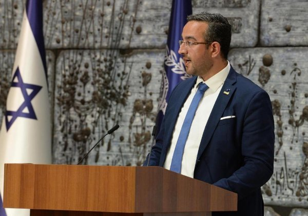 """יו""""ר הוועדה לחברה הערבית בהתאחדות התעשיינים, ד""""ר מוחמד זחאלקה. צילום: סיון פרג'"""