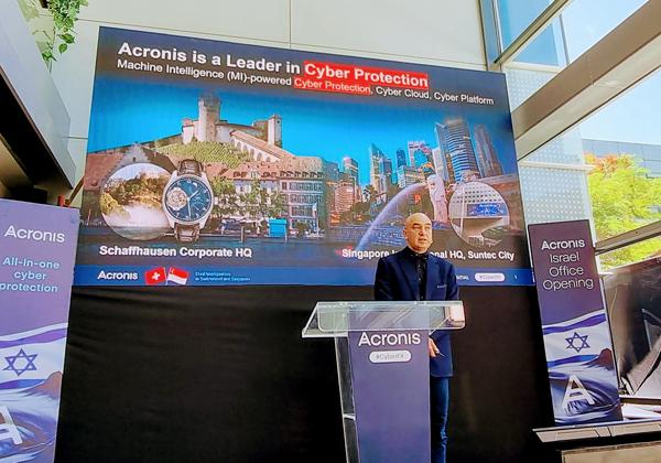 """מכריז על מרכז מו""""פ בישראל. סרגיי בלאוסוב, מייסד ומנכ״ל אקרוניס. צילום: פלי הנמר"""