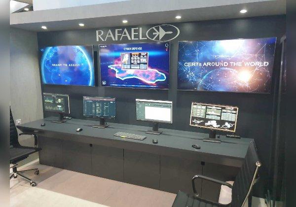רפאל בתערוכת GISEC 2021 בדובאי. צילום: יח''צ רפאל