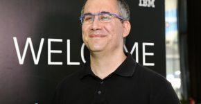 רוברט ברון, ארכיטקט פתרונות לתחום הבינה המלאכותית ביבמ העולמית. צילום: ניב קנטור