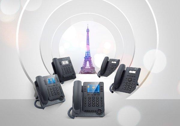 מוצרי טלפוניה מבוססי SIP של אלקטל לוסנט אנטרפרייז. צילום: אלקטל לוסנט אנטרפרייז