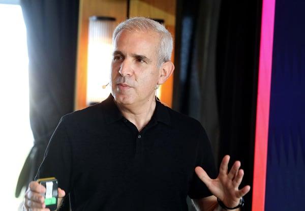 הראל יפהר, מנהל הפעילות של AWS בישראל. צילום: ניב קנטור