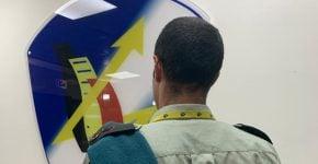 """סא""""ל י', ראש ענף טכנולוגיות מבצעיות להגנה בסייבר, מצו""""ב שבאגף התקשוב, צה""""ל. צילום: דובר צה""""ל"""