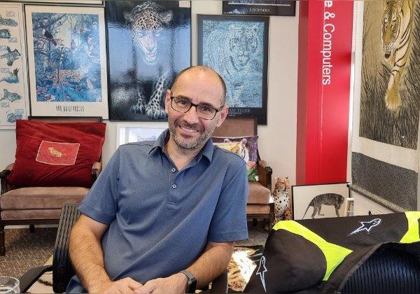 """גבי ניזרי, לשעבר מייסד ומנכ""""ל אייהו והיום סמנכ""""ל אסטרטגיה בריזולב. צילום: פלי הנמר"""