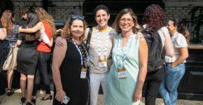 מימין לשמאל: אורלי בלכר, משרד מבקר המדינה; ג'ואנה עופר, לאומית שירותי בריאות; רינת אהרוני, נס. צילום: הצלמניה של שרונה
