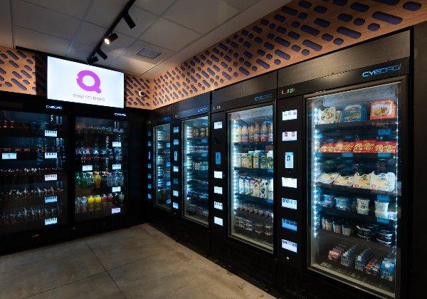 Q חנות אוטונטמית ללא קופה. צילום: ארז חיים