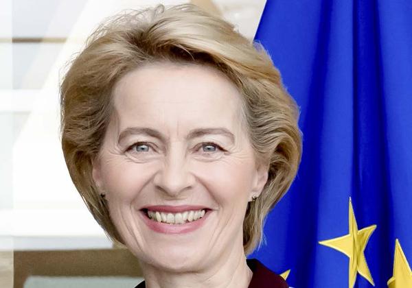 אורסולה ון דר לין, נציבת האיחוד האירופי. צילום: EU de Peru, מתוך ויקיפדיה
