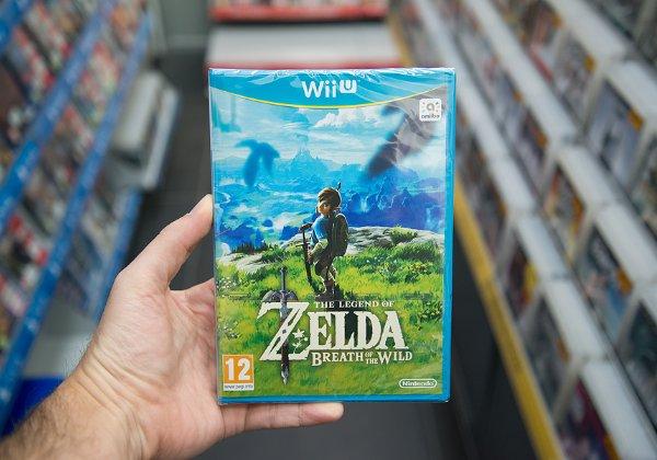 מלהיטי קונסולת ה-Switch של נינטנדו. Legend of Zelda: Breath. צילום: BigStock