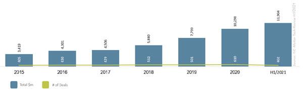 מקור: IVC-Meitar Tech Review H1/2021