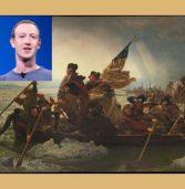"""איך חגג צוקרברג את ה-4 ביולי? על גלשן חשמלי כשדגל ארה""""ב בידו"""