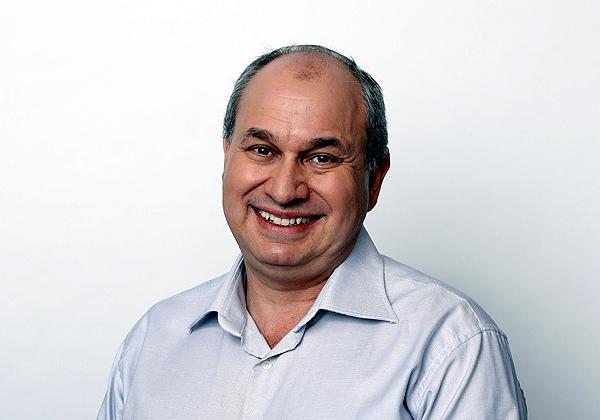 """ג'ין גולובינסקי, מנכ""""ל אינטואיט ישראל. צילום: אייל מרילוס"""