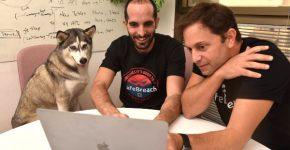 דון הכלבה מתעניינת בעבודה בחברת סייפבריצ'. צילום: מאיר כהן