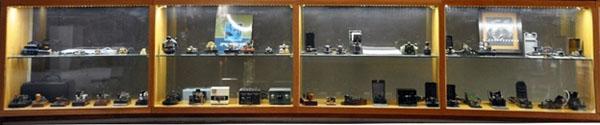 """אוסף מפתחות המורס של אמנון בר־גיורא ז""""ל.צילום: העמותה להנצחת חללי חיל הקשר והתקשוב"""