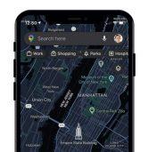 סוף סוף: מצב אפל באפליקציית המפות של גוגל