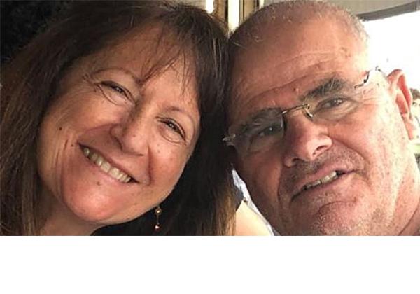 אסתי וחיים גרון, הרוגי התרסקות המטוס מעל חופי יוון. צילום מסך מפייסבוק