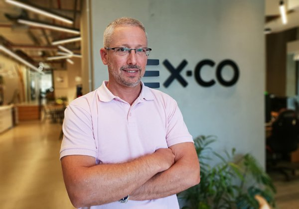 """יניב לובינסקי, סמנכ""""ל הכספים של EX.CO. צילום: יח""""צ"""