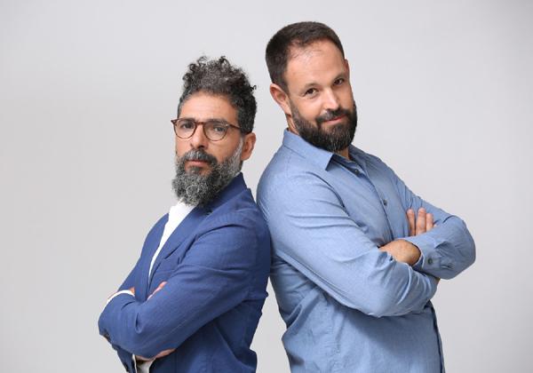 סאבו טיילור דיאב ויובל וינרב, מייסדים שותפים בקריסטל8. צילום: אלה פאוסט