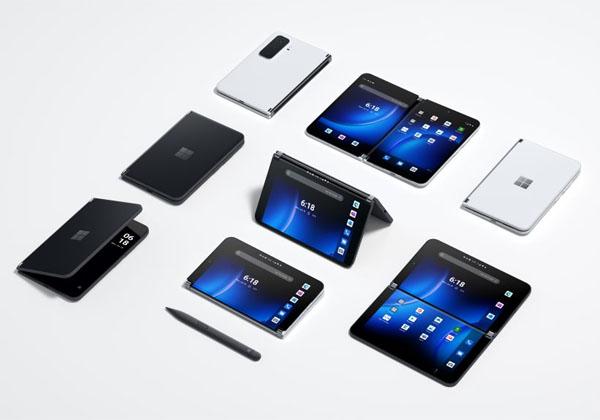 הטלפון המתקפל - Surface Duo 2. צילום: מיקרוסופט