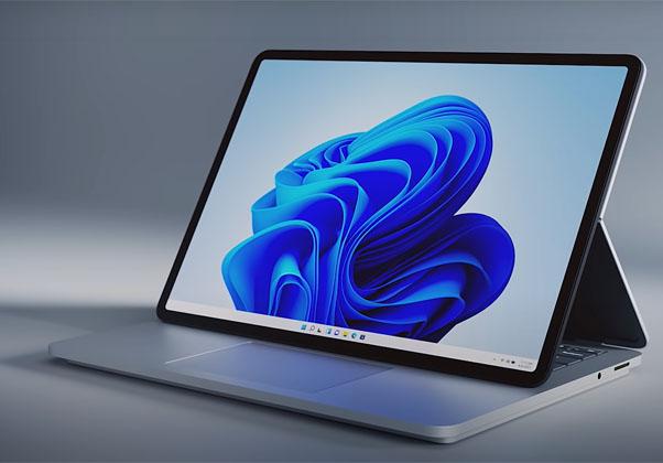 Surface Laptop Studio החדש. צילום: מיקרוסופט