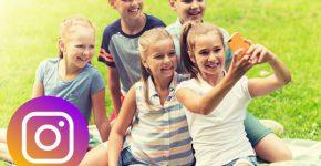 הפרויקט נעצר. אינסטגרם לילדים. צילום אילוסטרציה מעובד. מקור: BigStock
