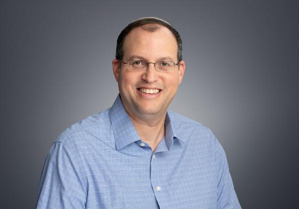 """ד""""ר ראובן שנפס, סמנכ""""ל האנליטיקה של ארניקס. צילום: דיוויד גראב"""