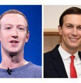 מארק צוקרברג ופייסבוק הכחישו טענות לעסקה עם ג'ארד קושנר