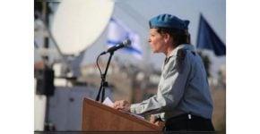 תמונה לראשת מחלקת התכנון באגף התקשוב וההגנה בסייבר. סא''ל אורית קורמן נגרי.