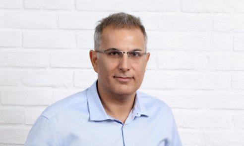 """זיו אברמוביץ, סמנכ""""ל פיתוח בקבוצת אמן."""