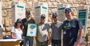 מימין: ערן ורנר, איתי ברק, מיכאל בן אבו, קרן קיימת, אפי כהן, מורין צויבק.
