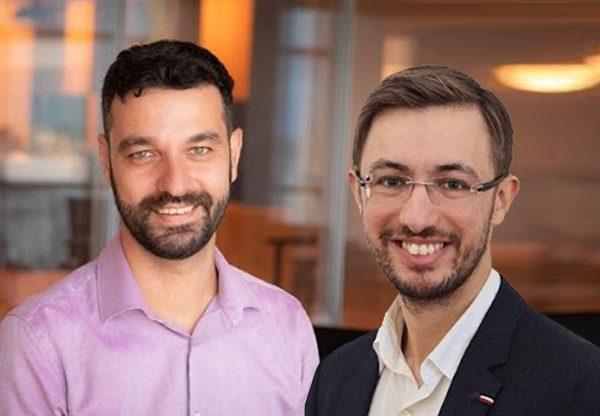 """משמאל: ד""""ר נמרוד פרטוש, סמנכ""""ל מדע הנתונים, ומיכאל גנדלמן, סמנכ""""ל הפיתוח - סיי. צילום: סיי"""