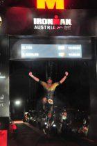 מיקי איטין, בתחרות איש הברזל. צילום: finisherpix