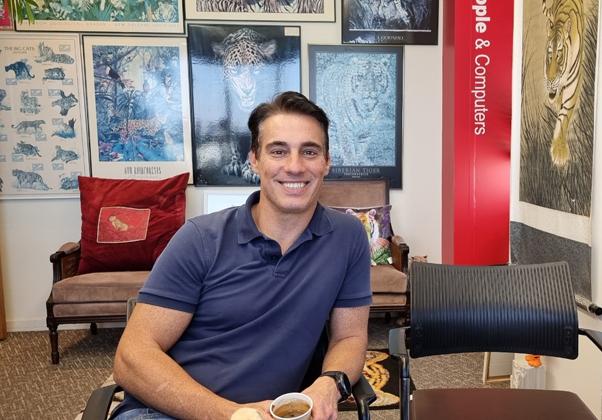 "מיקי איטין, מנכ""ל ומייסד BizFlow. צילום: פלי הנמר"