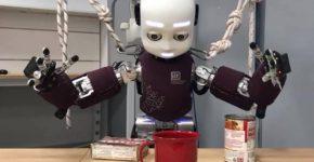 הדגמה של של זרועות רובוטיות בעלות יכולת חישה. צילום: אינטל