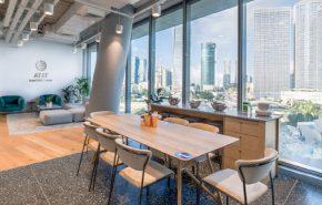 מרכז הפיתוח החדש של AT&T בתל אביב.